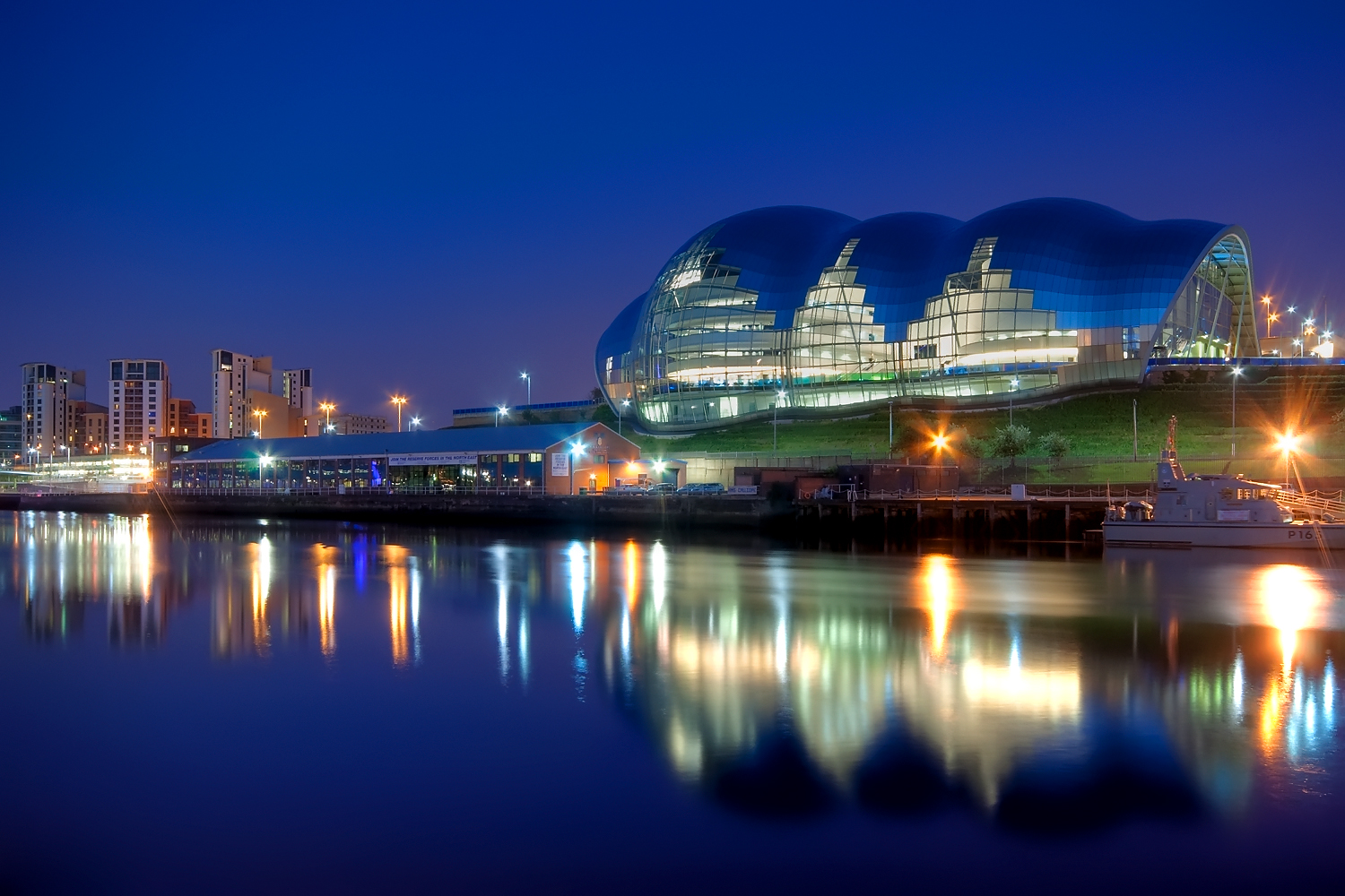 The Sage Gateshead in Newcastle